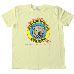 Michael Ockenbaul'S Trophy Cougar Hunting Guide Service - Tee Shirt