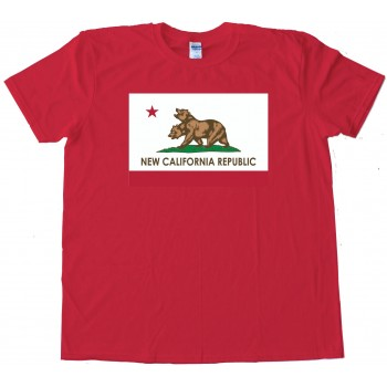 New California Republic Flag Bears - Tee Shirt