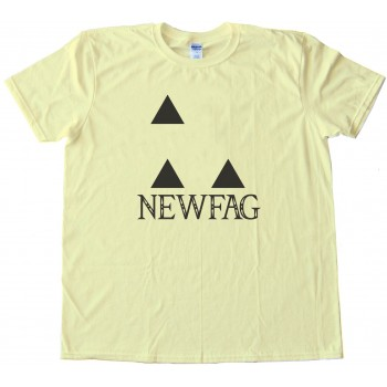 Newfags Can'T Triforce - Tee Shirt