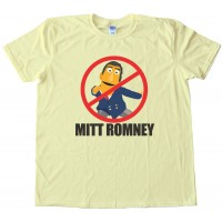No Mitt Romney - Say No To Mitt Tee Shirt