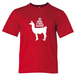 No Problem Prob Llama Animal - Tee Shirt
