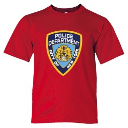 Nypd New York Police Department Logo - Tee Shirt