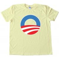 O - The Big O Barrack Obama Symbol - Tee Shirt