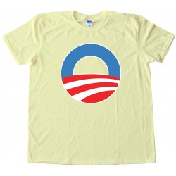 O - The Big O Barrack Obama Symbol - Tee Shirt