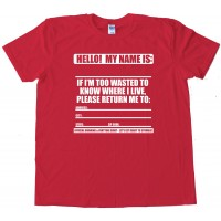 Official Partying Shirt - Tee Shirt