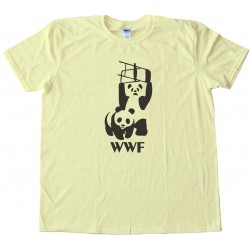 Panda Wwf Wrestling - Tee Shirt