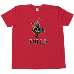 Pollo - Full Chest Polo Rider - Tee Shirt