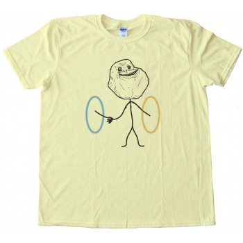Portal Forever Alone - Tee Shirt