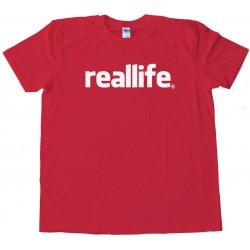 Reallife Facebook Rip - Tee Shirt