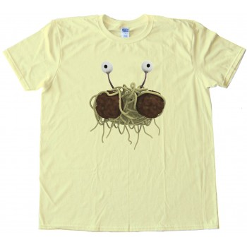 Rendering Fsm Flying Spaghetti Monster - Tee Shirt