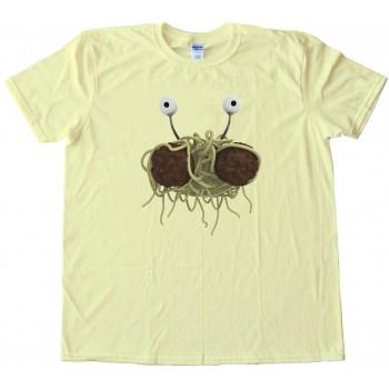 Rendering Fsm Flying Spaghetti Monster - Tee Shirt
