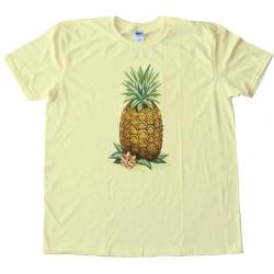 Retro Pineapple - Ent - Frient - Stoner - Tee Shirt