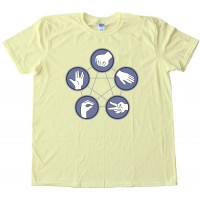 Rock Paper Scissors Lizard Spock - Tee Shirt
