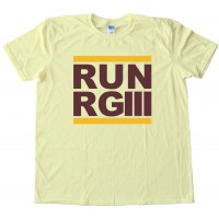 Run Rg3 Robert Griffen Washington Redskins - Tee Shirt