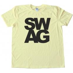 S W A G - L E T T E R S - Tee Shirt