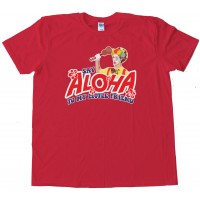 Say Aloha To My Little Friend Scarface Ukulele - Tee Shirt