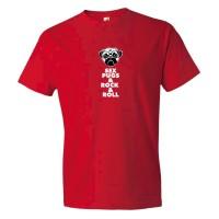 Sex Pugs &Amp; Rock &Amp; Roll - Tee Shirt