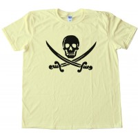 Skull &Amp; Crossbones Swords Pirate Tee Shirt