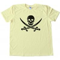 Skull &Amp; Crossbones Swords Pirate Tee Shirt