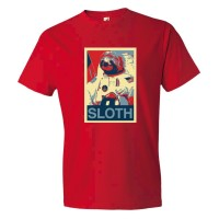 Sloth Face Plain Simple - Tee Shirt