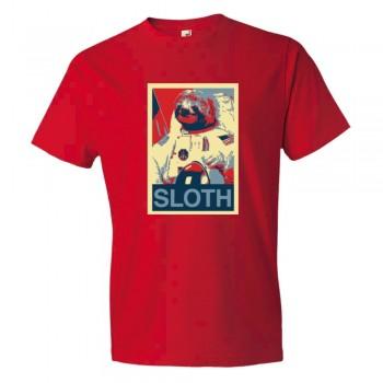 Sloth Face Plain Simple - Tee Shirt