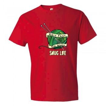 Snug Life Yarn &Amp; Knitting Knit Fast Die Warm - Tee Shirt