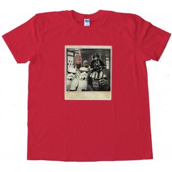 Star Wars Photobomb Chewie - Tee Shirt