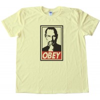 Steve Jobs Obey Tee Shirt