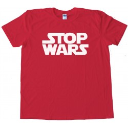 Stop Wars Star Wars Peace - Tee Shirt