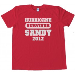 Survivor - Hurricane Sandy 2012 - Tee Shirt
