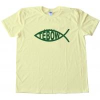 Tebow Fish Ny Jets Tee Shirt