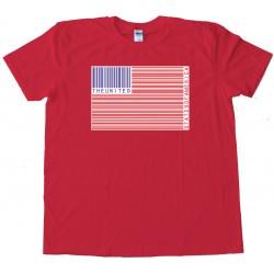 Upc American Flag - Tee Shirt