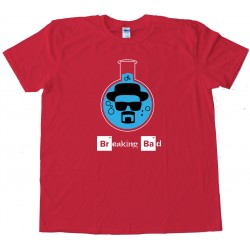 Walter White Heisenberg Flash Breaking Bad - Tee Shirt