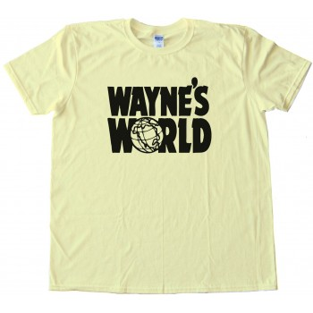 Wayne'S World Show Logo - Tee Shirt