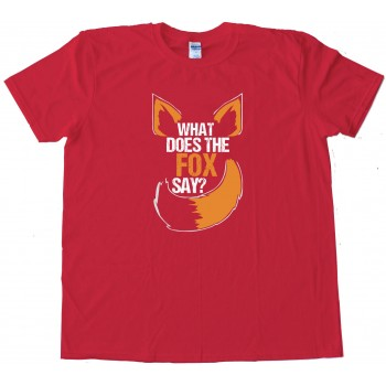 Ylvis What Does The Fox Say - Tee Shirt