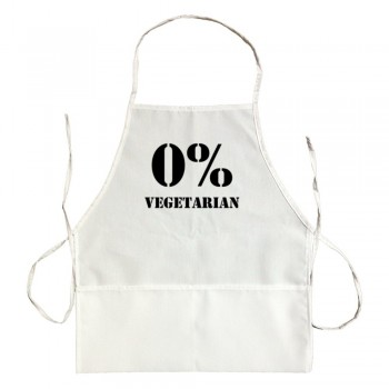Apron 0% Vegetarian Meat Lovers Grill