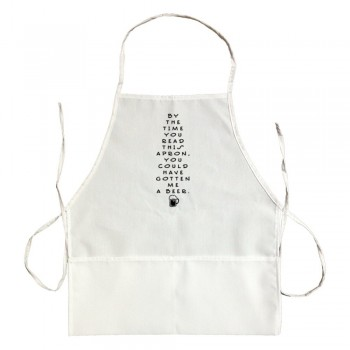 Apron By The Time You Read This Apron You Could Have Gotten Me A Beer