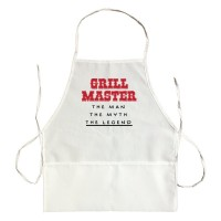 Apron Grill Master The Man The Myth The Legend