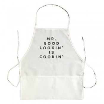 Apron Mr. Good Lookin Is Cookin'