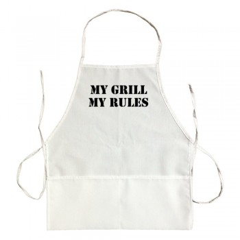 Apron My Grill My Rules