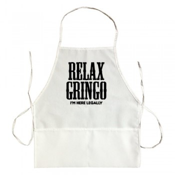 Apron Relax Gringo I'M Here Legally