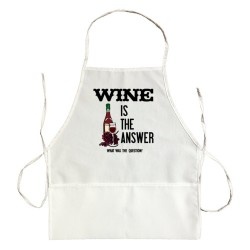 Apron Wine Is The Answer What Was The Question?