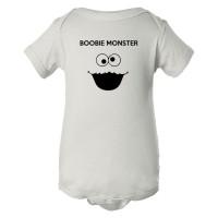Baby Bodysuit Boobie Monster Cookie Monster