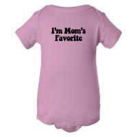 Baby Bodysuit I'M Mom'S Favorite