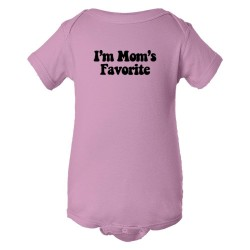 Baby Bodysuit I'M Mom'S Favorite