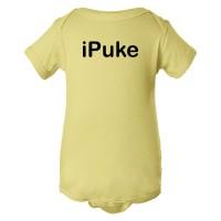 Baby Bodysuit Ipuke Apple Style