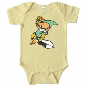 Baby Bodysuit - Link Legend Of Zelda