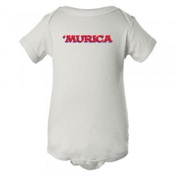 Baby Bodysuit 'Murica American Spirit George Bush Style