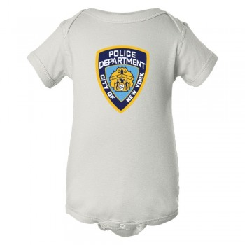 Baby Bodysuit Nypd New York Police Department Logo