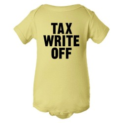 Baby Bodysuit Tax Write Off